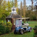 Starter Hut at Abridge Golf Club