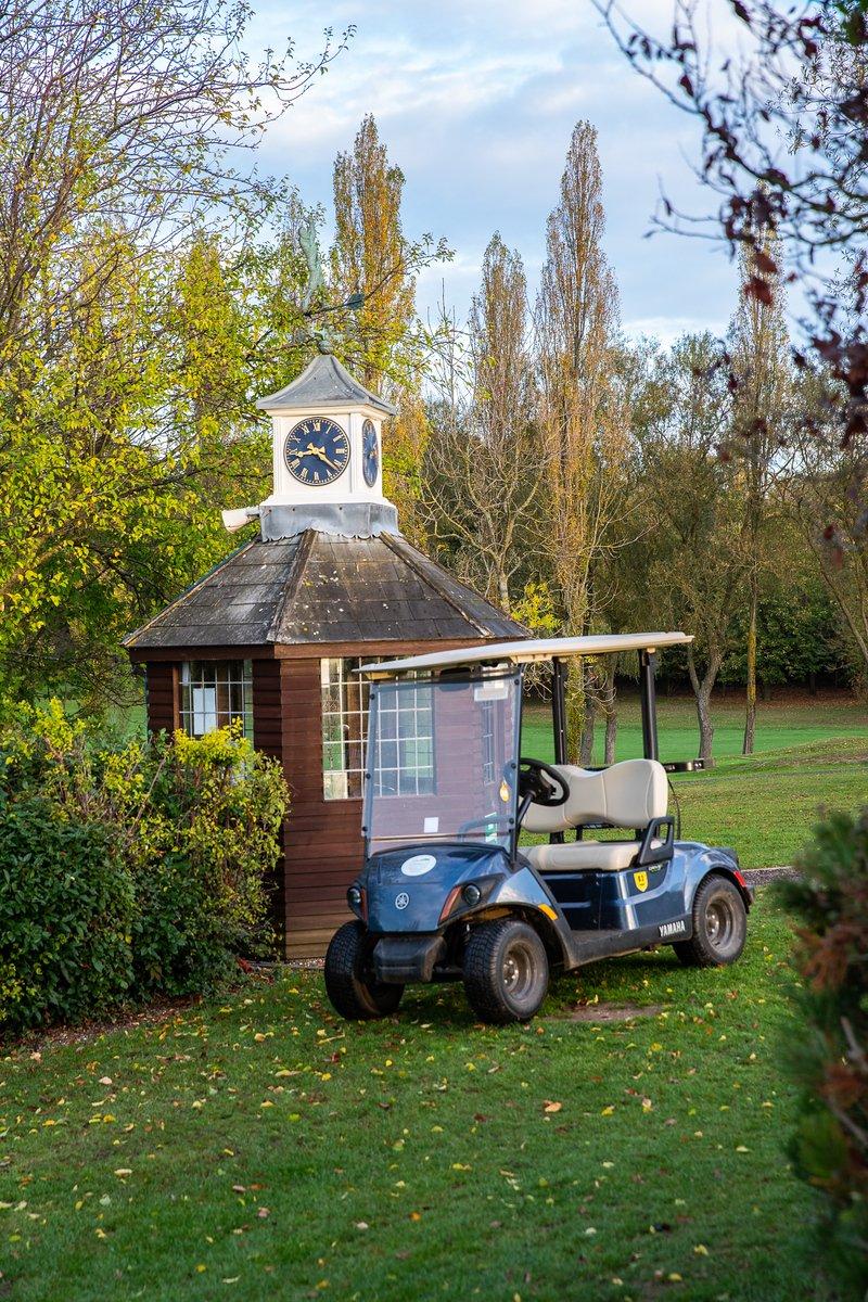 Starter Hut at Abridge Golf Club