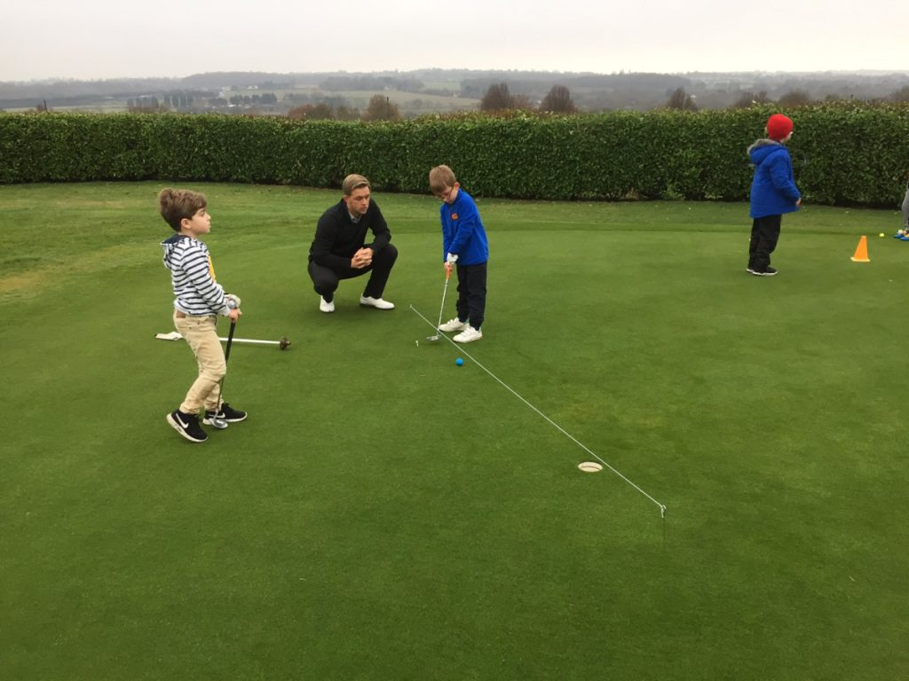 Junior golf on saturday mornings