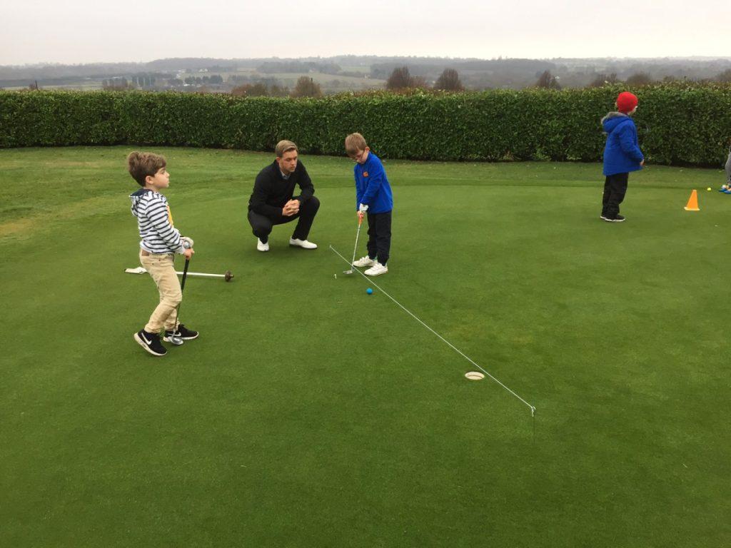 Junior golf on saturday mornings