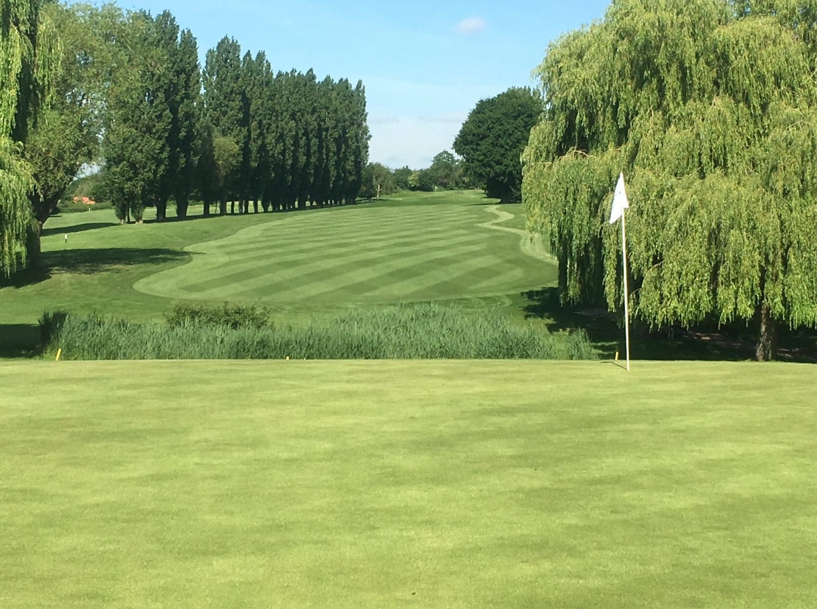 14th Green at Abridge Golf Club