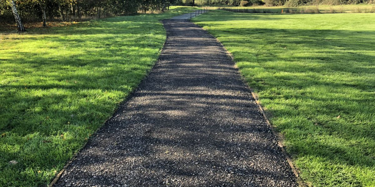 Buggy Path at Abridge Golf Club