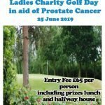 Poster for Prostate Cancer ladies golf chariaty day no 2