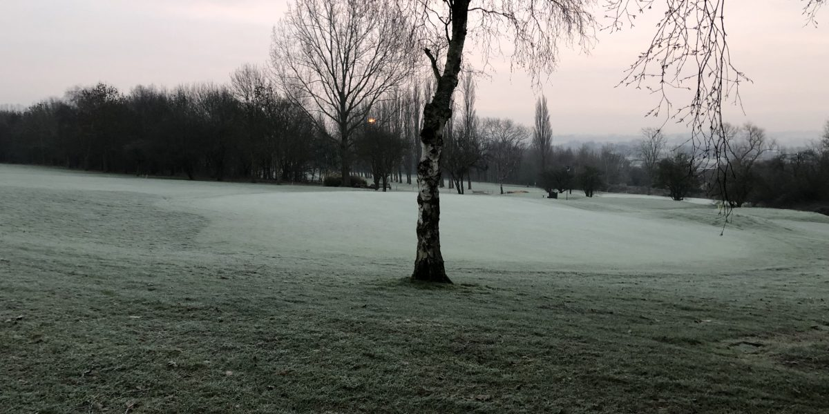 frost on the greens
