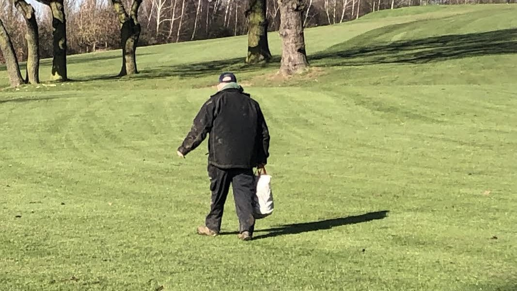 Greenkeeper at abridge