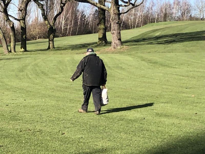 Greenkeeper at abridge
