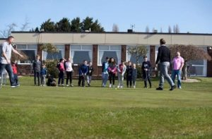 Junior Golf Lessons on Saturday Morning.