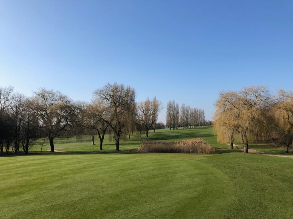 14 th Green at Abridge Golf Club