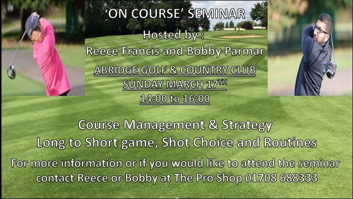 Course Management workshops