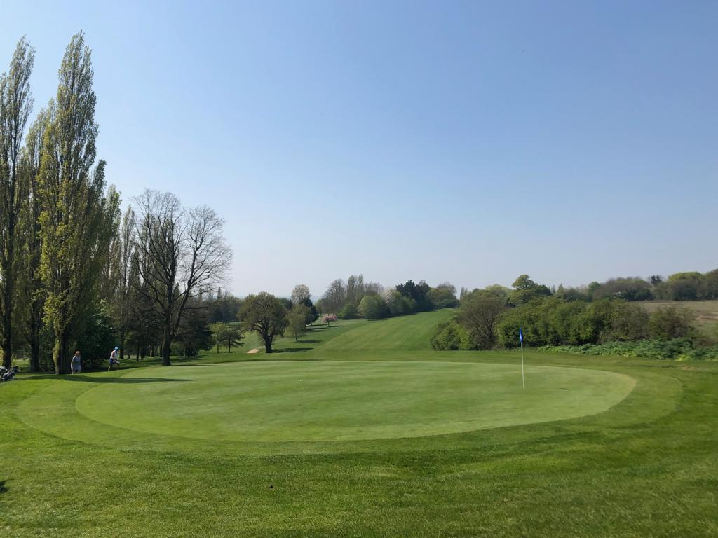 Hole 11 at abridge golf club