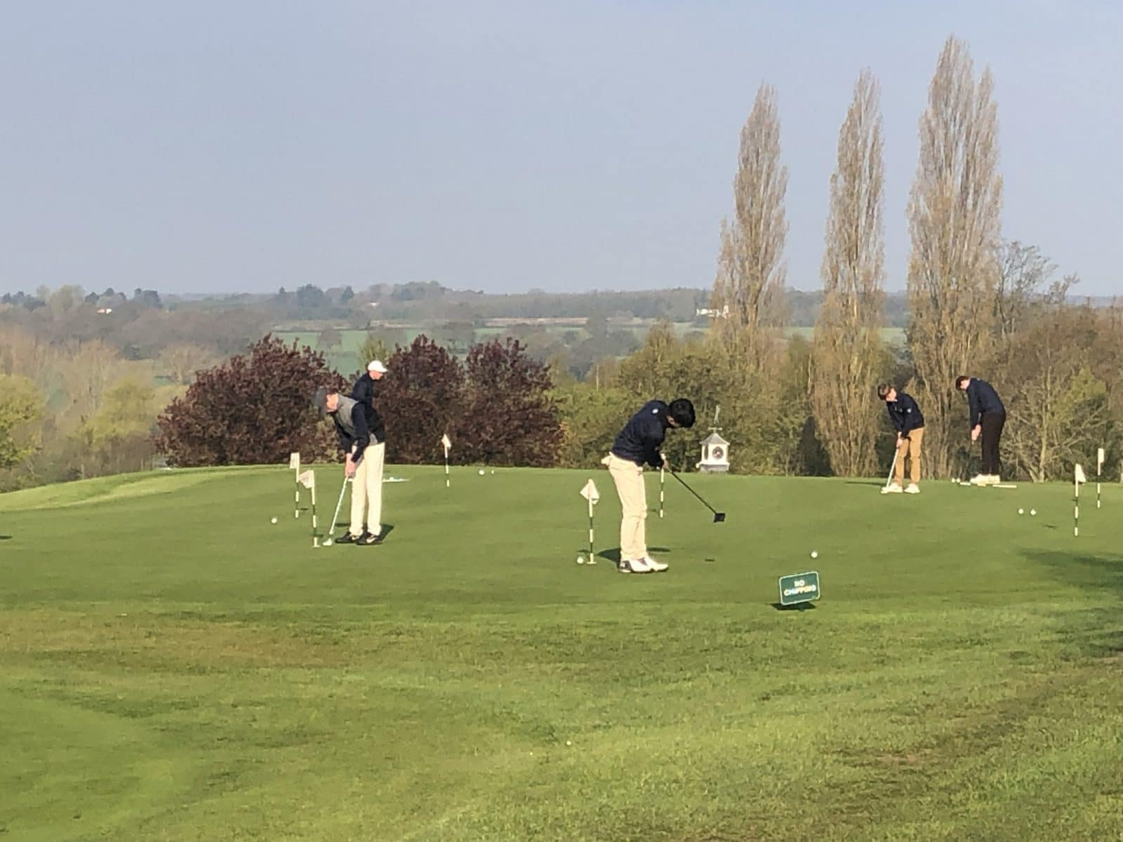 society golf at abridge