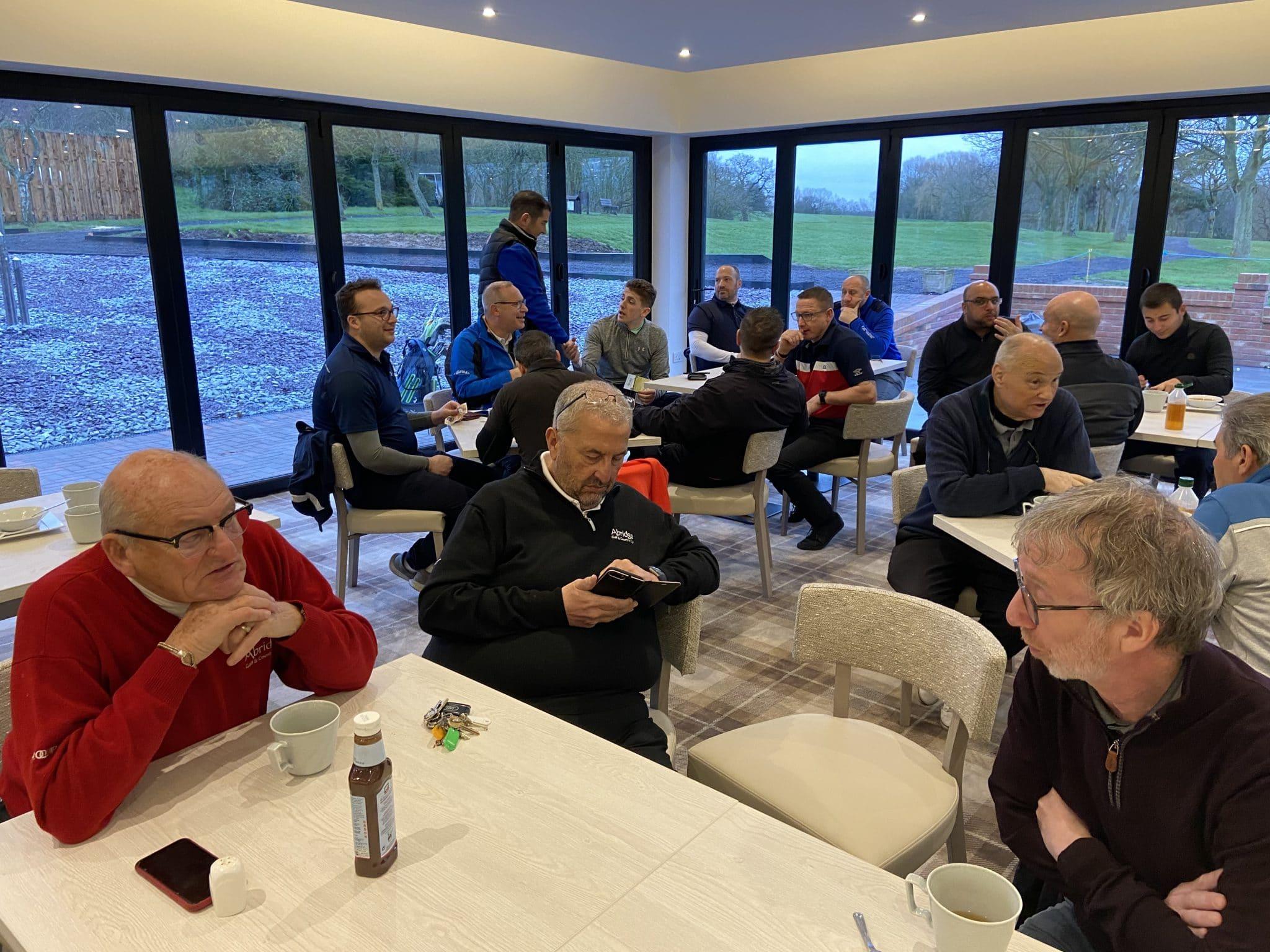 abridge golf club the lounge