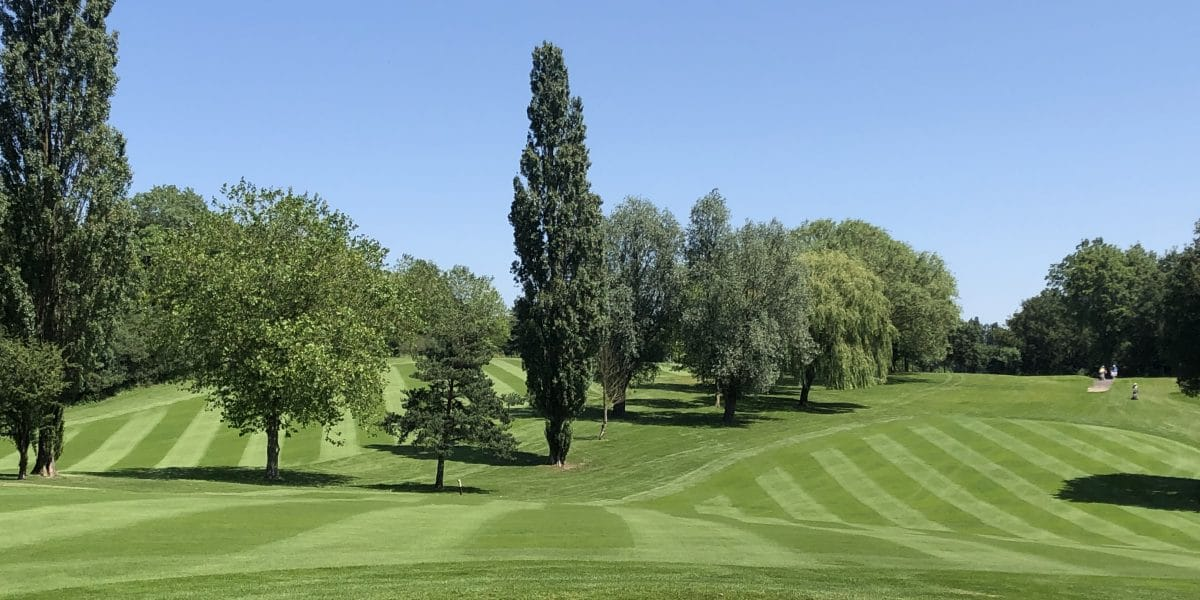 Hole 18th at Abridge Golf Club