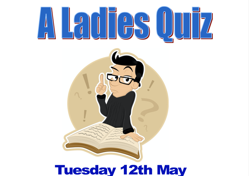 ladies quiz night at abridge golf club